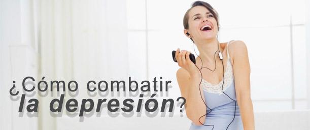 ¿Cómo combatir la depresión?