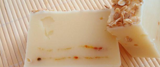 Receta y propiedades para el jabón natural de avena