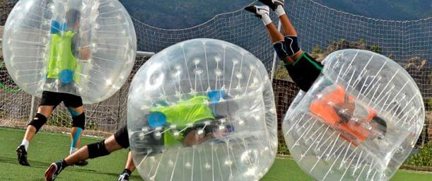 Bubble Soccer: la burbuja del fútbol