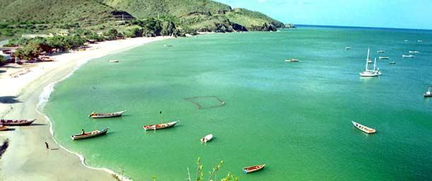 Playa Manzanillo, una romántica bahía de pescadores