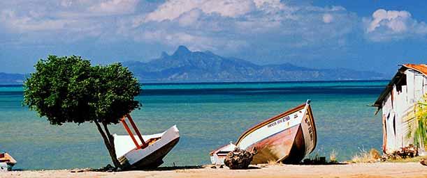 Playa Taguantar, punto de encuentro para sus pobladores