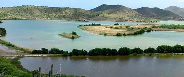 Laguna de Los Mártires, monumento natural
