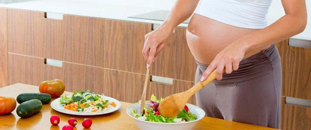 La alimentación y el embarazo