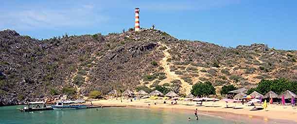 Isla El Faro, una bahía llena de encantos naturales