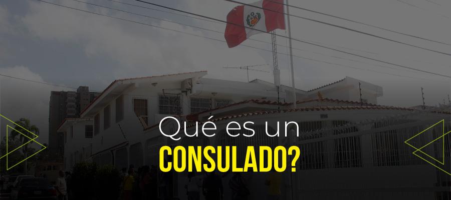 Qué es un consulado