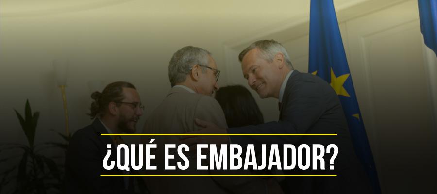 Qué es embajador