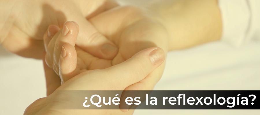 Qué es la reflexología