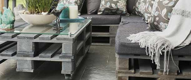 Cómo hacer muebles con paletas