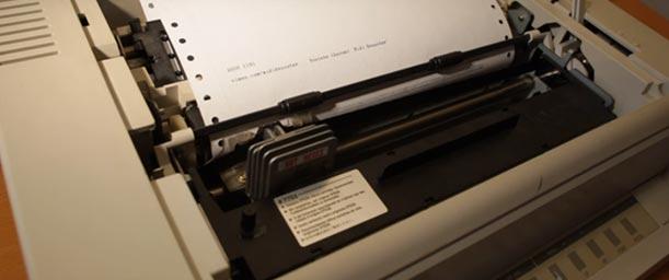 Qué es una impresora matricial