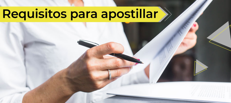 Requisitos para apostillar