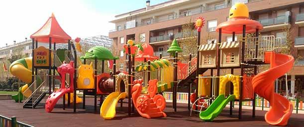 ¿Cómo diseñar un parque infantil?