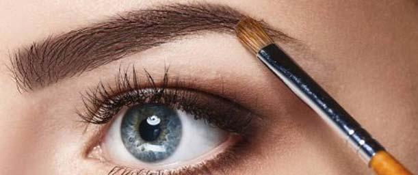 ¿Cómo pintar las cejas?