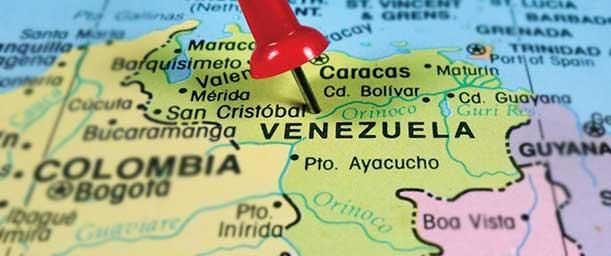 Qué es el mapa de Venezuela