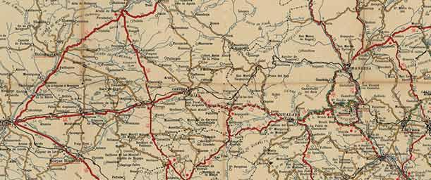 Qué es un mapa de carreteras