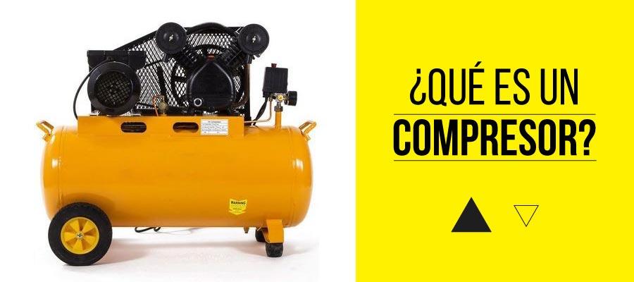 Qué es un compresor de aire