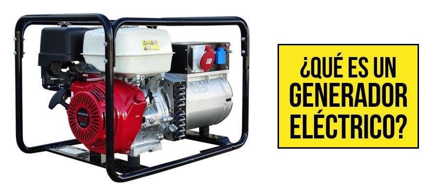 Que es un generador