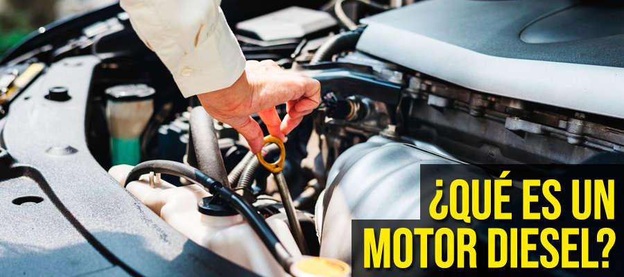 Qué es un motor diesel