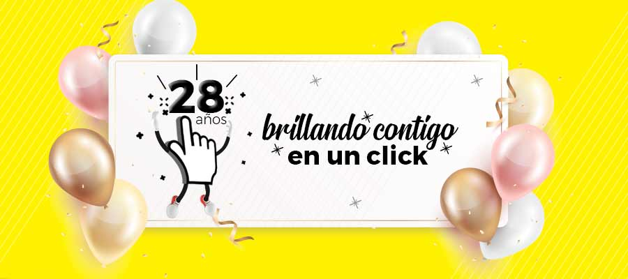 Infoguia; 28 años brillando contigo en un click