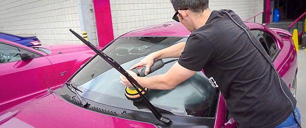 Cuidados para los vidrios del vehículo