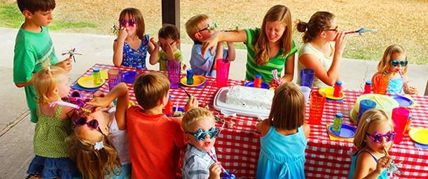 Organizando una fiesta infantil por primera vez.