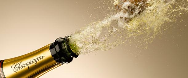 Interesante origen del champán en las celebraciones