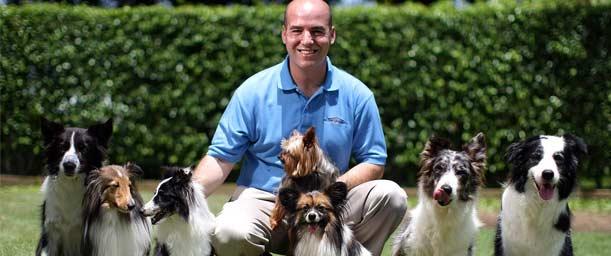 La profesión del entrenador de mascotas