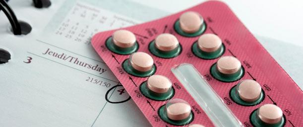 El uso de pastillas anticonceptivas