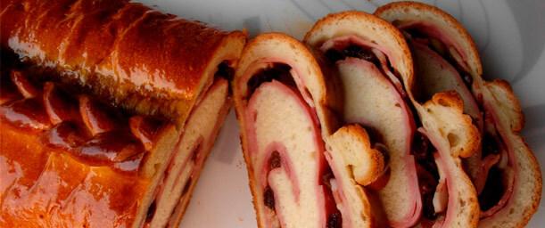 Receta del pan de jamón