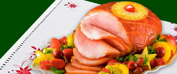 Consejos para presentar jamón planchado navideño
