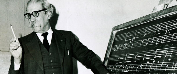 Vicente Emilio Sojo, una vida dedicada a la música
