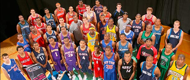 Cuáles son los equipos de la National Basketball Association