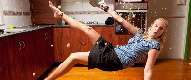 Cómo evitar accidentes en la cocina