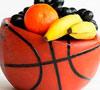 Alimentación para jugar baloncesto
