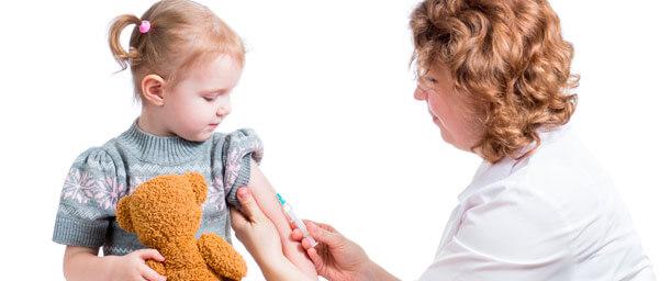 Las vacunas más comunes en niños