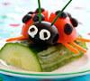 Cómo motivar a los niños para que coman ensaladas